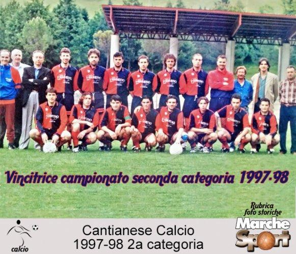 FOTO STORICHE - Cantianese Calcio 1997-98