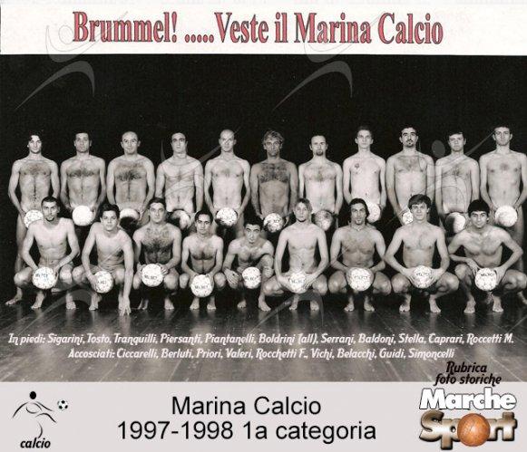 FOTO STORICHE - Marina Calcio 1997-98