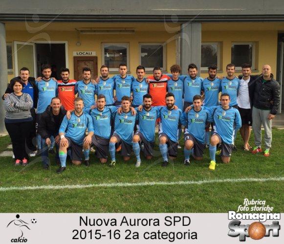 FOTO STORICHE - Nuova Aurora SPD 2015-16