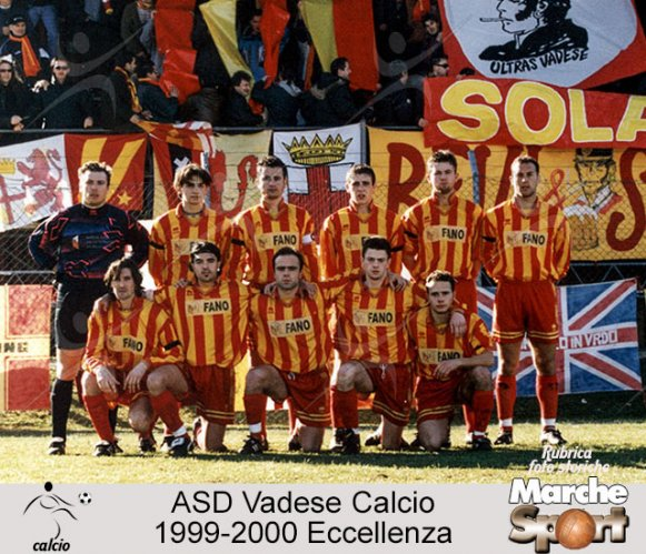 FOTO STORICHE - ASD Vadese Calcio 1999-2000