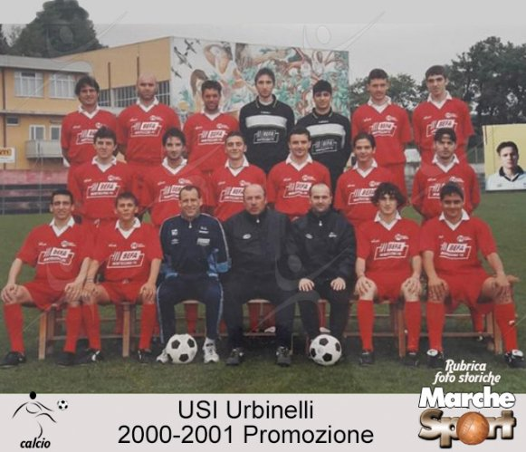 FOTO STORICHE - USI Urbinelli 2000-01
