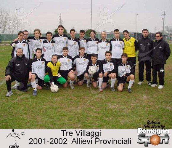 FOTO STORICHE - Allievi provinciali Tre Villaggi 2001-02
