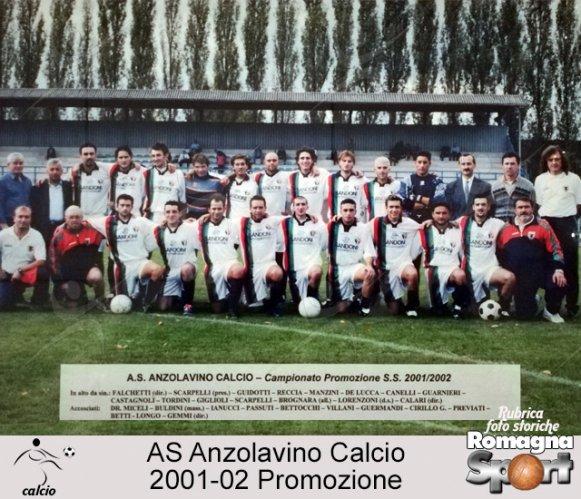 FOTO STORICHE - AS Anzolavino 2001-02