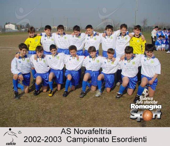 FOTO STORICHE - AS Novafeltria 2002-03