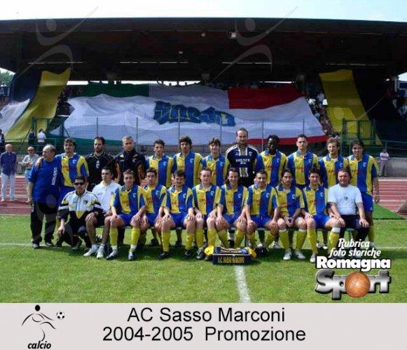 FOTO STORICHE - AC Sasso Marconi 2004-05