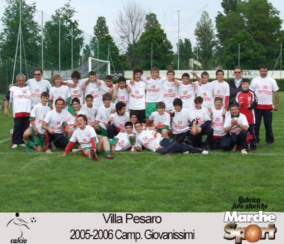 FOTO STORICHE - Giovanissimi Villa Pesaro 2005-06
