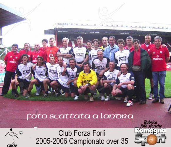 FOTO STORICHE - Club Forza Forlì Over 35 2005-06