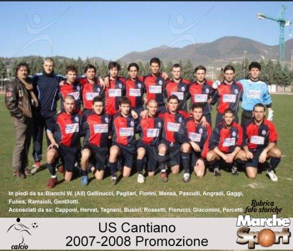 FOTO STORICHE - US Cantiano 2007-08
