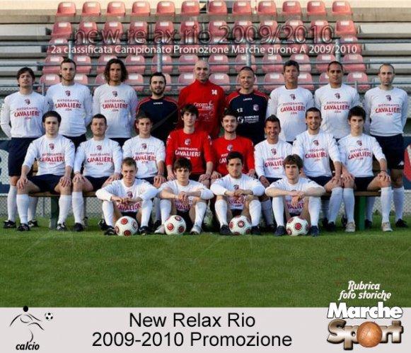 FOTO STORICHE - New Relax Rio 2009-10