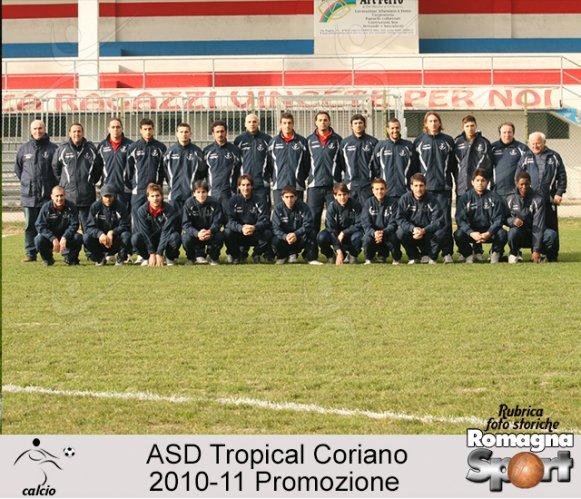 FOTO STORICHE - Tropical Coriano 2010-11