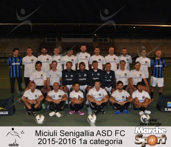 FOTO STORICHE - Miciulli Senigallia ASD FC