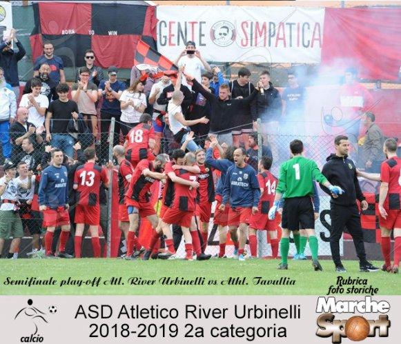 FOTO STORICHE - Atletico River Urbinelli 2018-19