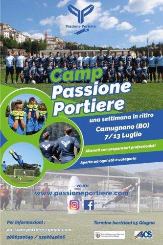 Torna il camp Passione Portiere a Camugnano!!