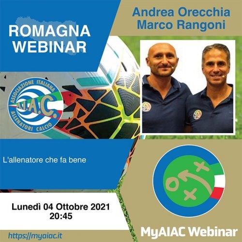 Romagna Webinar: l'allenatore che fa bene