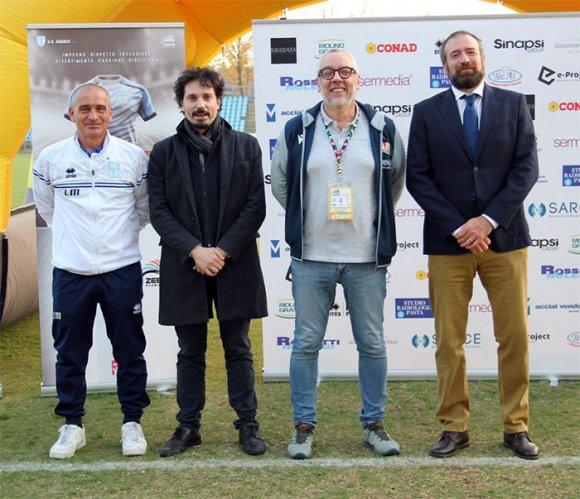 Il presidente Alberici alla 'prima' del progetto di collaborazione tra US Audace e Zebre Rugby Club
