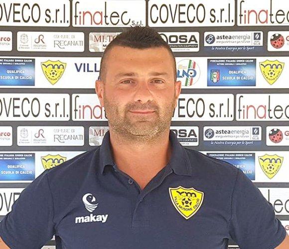 Alberto Petrini confermato come preparatore dei portieri del Villa Musone