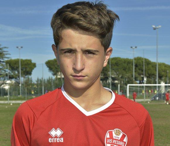 Alessandro Sciamanna (Vis Pesaro) convocato in Lega Pro under 15
