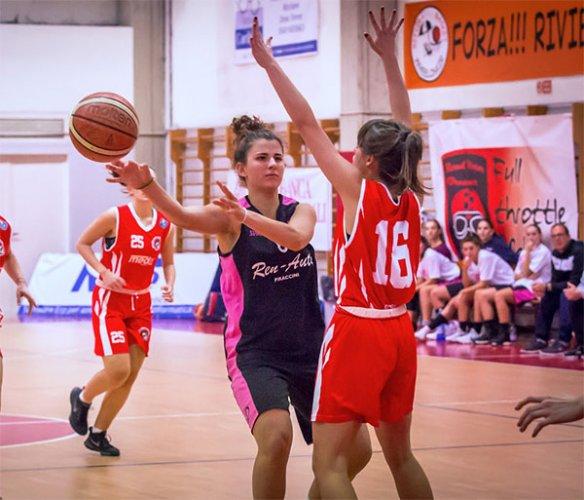 AICS Forlì vs Happy Basket Rimini 45-47