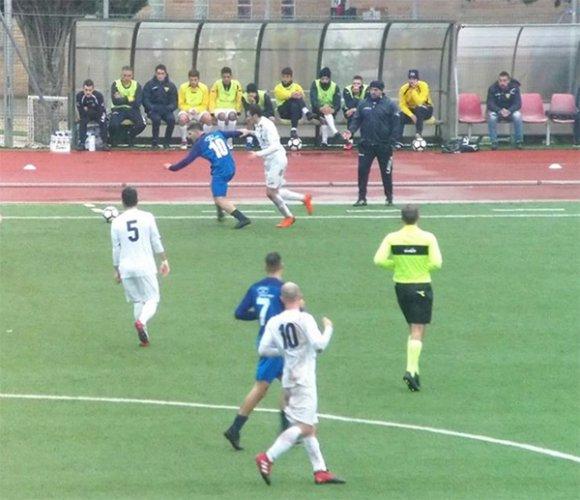 Il Villa Musone impegnato contro il Villa San Martino