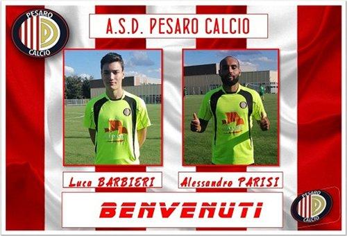 Doppio colpo della Pesaro Calcio