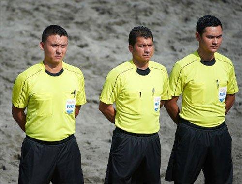 Arbitri: Delvecchio alle qualificazioni mondiali di Beach Soccer