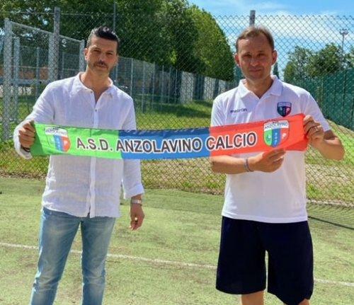 L'A.S.D. Anzolavino da il benvenuto al nuovo mister
