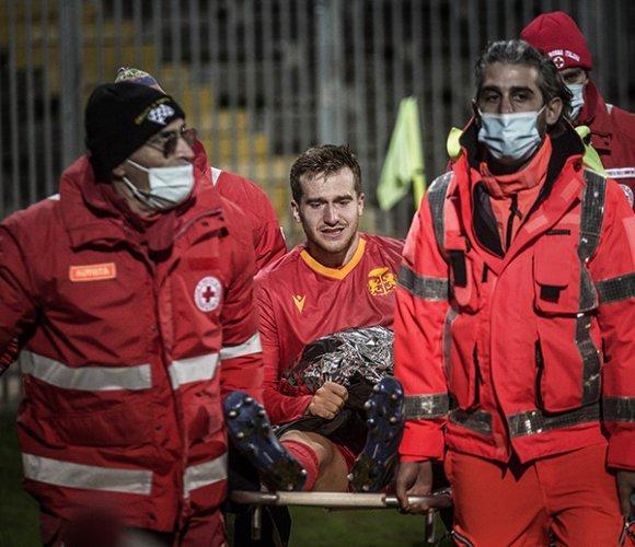 Ravenna FC: Rottura del legamento crociato per Bolis
