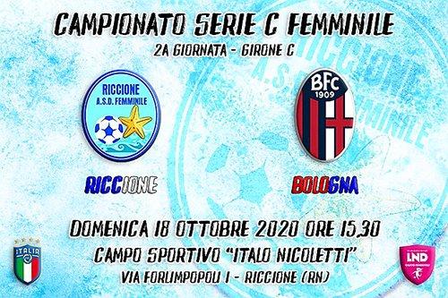Femminile Riccione, attesa la prova del riscatto nel derby con il Bologna