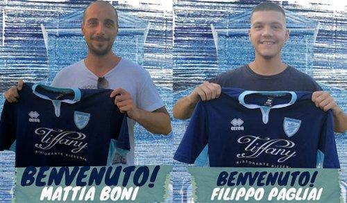 Mattia Boni e Filippo Pagliai sono nuovi giocatori del San Rocco!