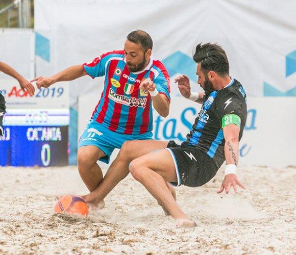 Beach soccer: Coppa Italia AON - Domani la finale