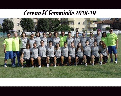 On line le foto 2018-2019 della Cesena F.C.