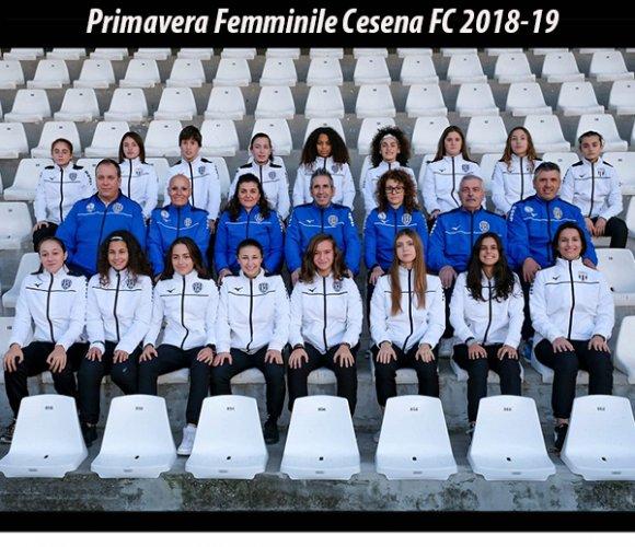 Cesena FC primavera – femminile, resoconto della   prima parte di stagione