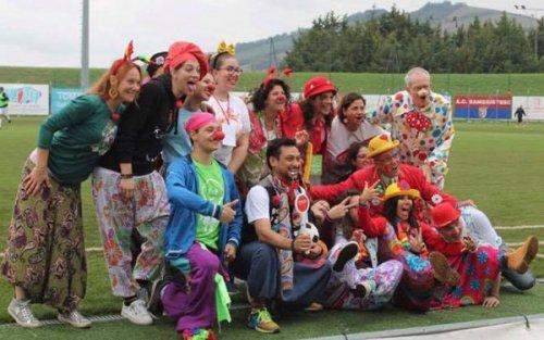 La Sangiustese e' vicina al clown e clown festival