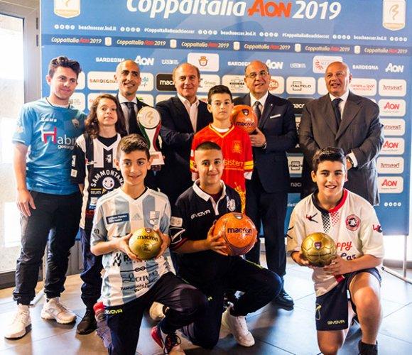 Coppa Italia AON 2019: Inizia lo show!