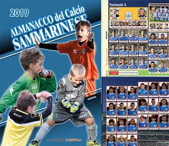 Ultimi giorni per trovare l'Almanacco del Calcio sammarinese 2019