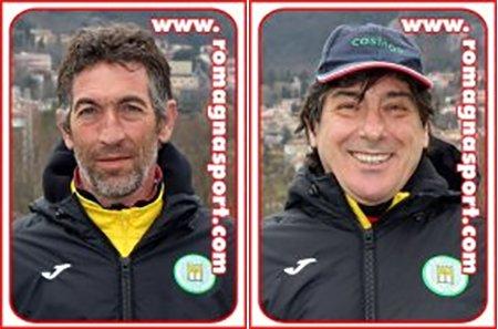SS Cosmos saluta Cristian Protti e il suo vice Massimo Pari