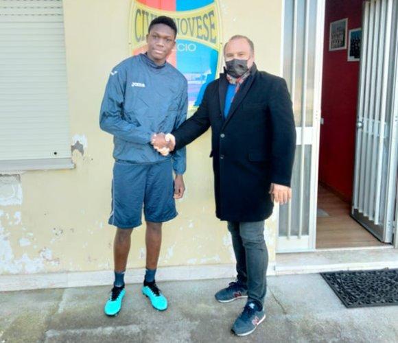 La Civitanovese tessera il giovane  Egbobawaye Destiny