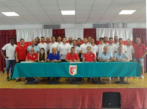 Presentazione stagione 2017/18 FC Falconara 1973