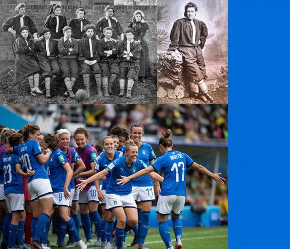 125 anni fa la prima partita di calcio femminile