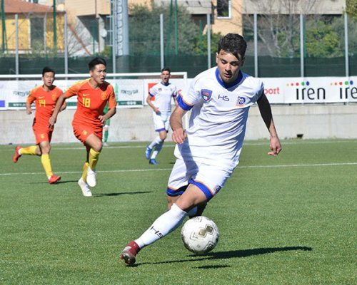 Viareggio Cup: La Rappresentativa di Serie D sbatte contro il muro cinese, è 1-1