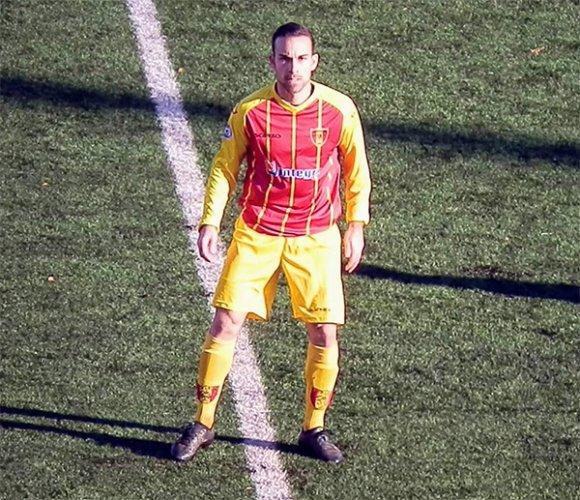 """Francesco Lunardini (Recanatese): """"Sono stato continuamente provocato e insultato per tutto il match da 7/8 giocatori"""""""