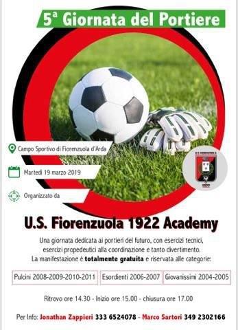 5° Giornata del Portiere U.S. Fiorenzuola Academy