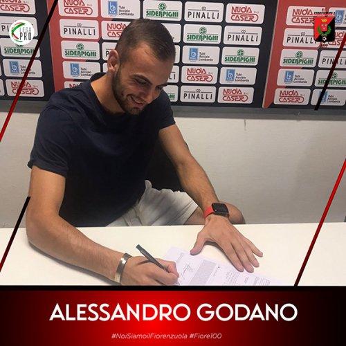 Fiorenzuola: è ufficiale l'arrivo di Alessandro Godano