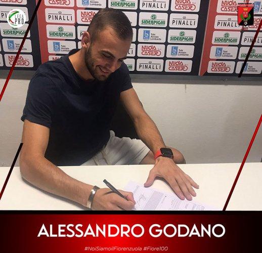 Alessandro Godano è un giocatore del Fiorenzuola