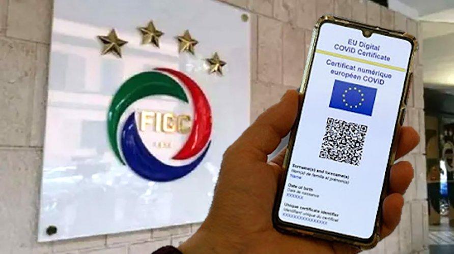 Chiarimenti della FIGC su Green Pass e protocollo sanitario