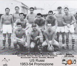 FOTO STORICHE - US Russi 1953-54