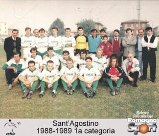FOTO STORICHE - Sant'Agostino 1988-89