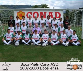 FOTO STORICHE - Boca Pietri Carpi ASD 2007-08