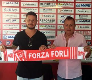 Thomas Bonandi firma per il Forlì FC