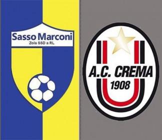 Sasso Marconi vs Crema 1-2